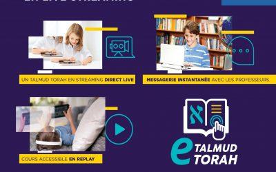 E-LEARNING TALMUD THORA